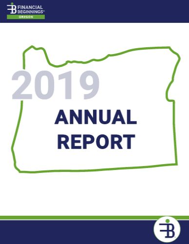 Financial Beginnings Oregon Annual Report